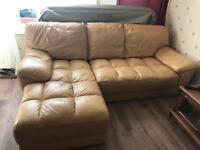 Leather sofa cheap