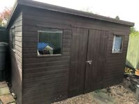Cracking 12 x 8 foot shed in MINT condition available to collect in SEVENOAKS
