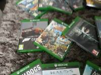 For sale xbox one S 500gb +2tb external lots of games
