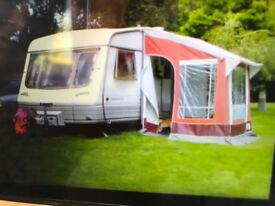 A Great holiday buy - a Corniche caravan 15/2 1994 great for hols and family staying overnight