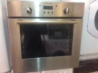Built in Electrolux oven in silver color fully tested and comes with 1 month guarantee