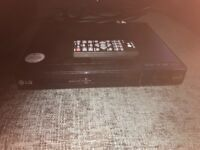 Brand new LG DVD player for sale. Selling as not compatible with our TV