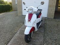 Sym Fiddle III 125cc scooter 2015 '65' plate, Twist and go