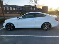 MERCEDES C CLASS COUPE IMMACULATE