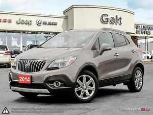 2014 Buick Encore Premium AWD | NAVI | ROOF | LEATHER | ONLY $15