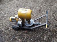 Electric pump out kit. Water pump/transfer pump