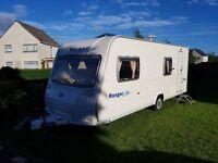 Bailey Ranger 550/6, 6 berth family touring caravan, Single Axle 2006 (2007 Model) Immaculate