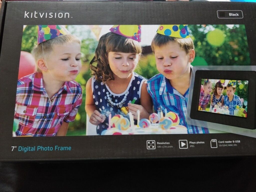 Kitvision 7 Inches Digital Photo Frame In Beeston Nottinghamshire