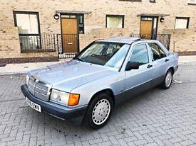 1992 (J) Mercedes - Benz 190E 2.0 Petrol (Classic Car)
