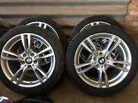 BMW M SPORT ALLOYS AND TYRES 18INCH