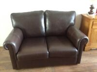 Leather Two Seater Sofas