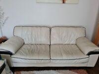Two 3 seater sofas