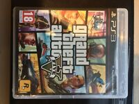 GTA 5/COD Ghosts/COD Black Ops/DJ Hero and two decks/Buzz and four buzzers/Fifa 12 & 13