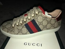 Gucci trainers brand new genuine