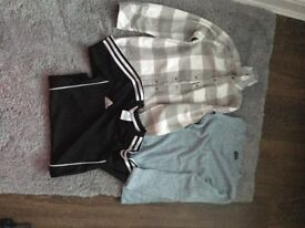 Boys long sleeve shirt, Adidas t shirt