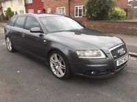 2008 08reg Audi A6 3.0 Tdi Quattro LeMans Automatic Grey Avant Top Spec
