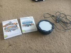 Skylanders Spyro's Adventure & Giants Wii game and portal