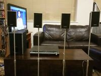 Sony Home Cinema 5.1 / Surround sound with stands, cable and remote (DAV-DZ260)