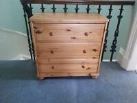 Medium sized chest of drawers