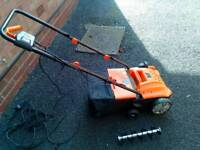 VonHaus 2 in 1 Electric Lawn Raker/Scarifier, Aerator