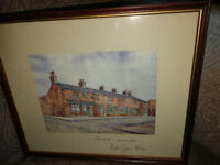 Coronation Street sketch drawing signed by Barbara Know