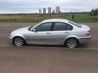BMW 320D SE, 2002, Titan Silver Diesel Saloon - with Winter tyres and full set of spare alloys