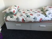 IKEA brimnes day bed, converts to double,
