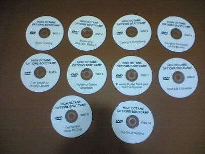 Option Spread (10 DVD set by Steve Wirrick - High Octane Options Bootcamp Option Spread Series)