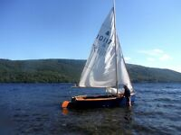GP-14 Sailing Dinghy- Fair Condition