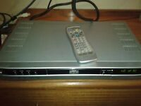 Alba DVD Player/ Recorder with remote and scart lead