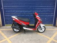 2019 SYM JET 4 125cc SCOOTER , HPI CLEAR , GOOD CONDITION ,SERVICE HISTORY 1 OWNER FROM NEW