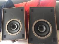 Vintage Lenco speakers