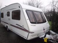 SWIFT ARCHWAY HARTWELL 2006 FIXED BED MOTOR MOVER 4 BERTH