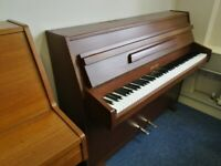 🎹 !!! Zender, Brown Mahogany Small Modern Piano, Nationwide Delivery, £650 !!! 🎹