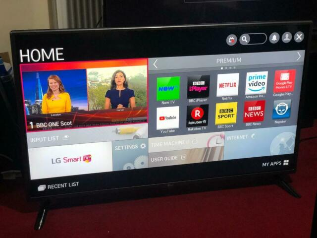 42 inches LG smart tv with Remote in perfect condition | in Royston,  Glasgow | Gumtree