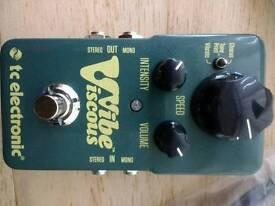 New tc electronics VISCOUS VIBE pedal