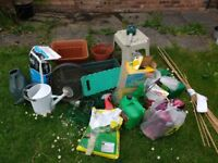 Garden shed clear out(open ad for contents)