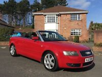 2004 AUDI A4 1.8 TURBO SPORT ** CONVERTIBLE ** SERVICE HISTORY ** ALL CARDS ACCEPTED