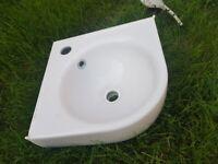Sink corner Twyford 32 x 32 cm