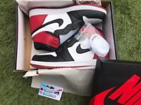 Nike Air Jordan 1 High Retro Black Toe 2016
