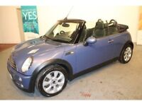 MINI COOPER 1600 CONVERTIBLE WITH FULL LEATHER STUNNING COLOUR DRIVES SUPERB SERVICE HISTORY