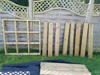 Decking kit 2 x 1.2m frames and boards