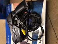 Light Gun and Steering Wheel Bundle for PlayStation still boxed
