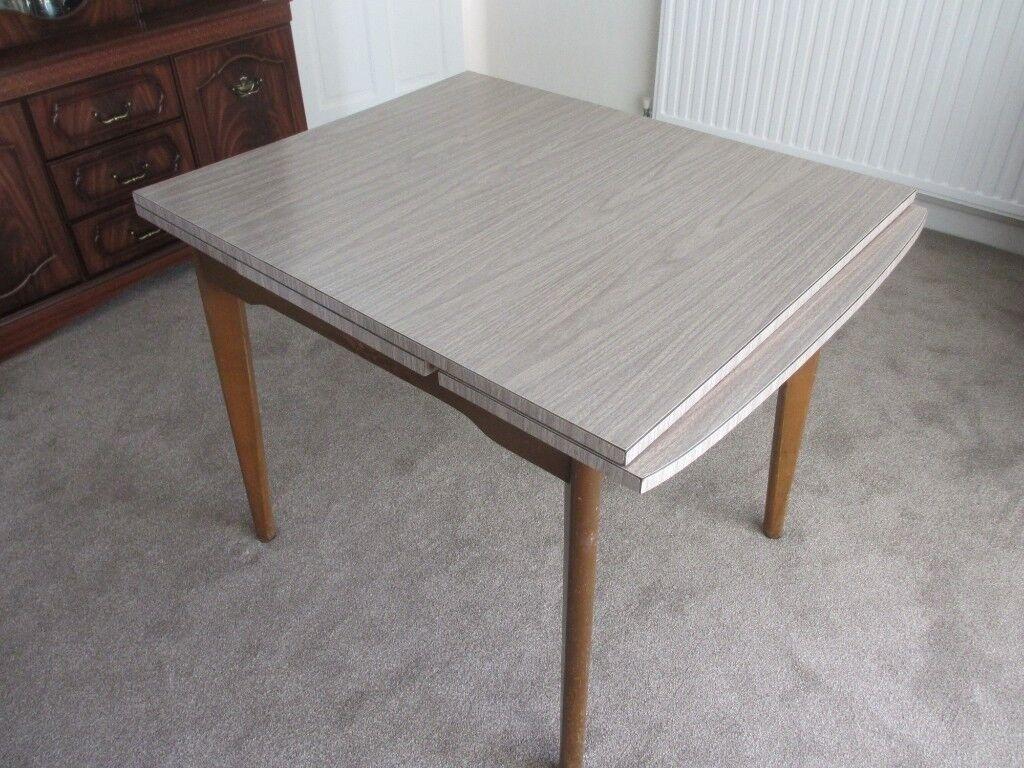 1960 S Retro Melamine Dining Table