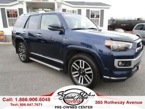 2016 Toyota 4Runner Limited $291.95 BIWEEKLY!!!
