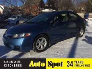 2010 Honda Civic DX-A/LOW, LOW KMS/PRICED FOR A QUCK SALE
