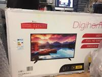 Digihome 50inch Tv with Tesco receipt