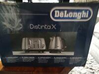 DELONGHI DISTINTA X TOASTER IN BOX (BARGAIN)