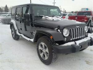 2016 Jeep WRANGLER UNLIMITED SAHARA - Navigation - Remote Start