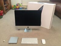21.5 inch Apple iMac plus Apple USB SuperDrive with keyboard and mouse - 2.7GHz